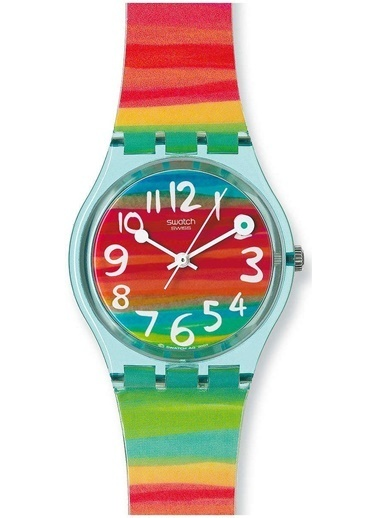 Swatch GS124 Bayan Kol Saati Renkli